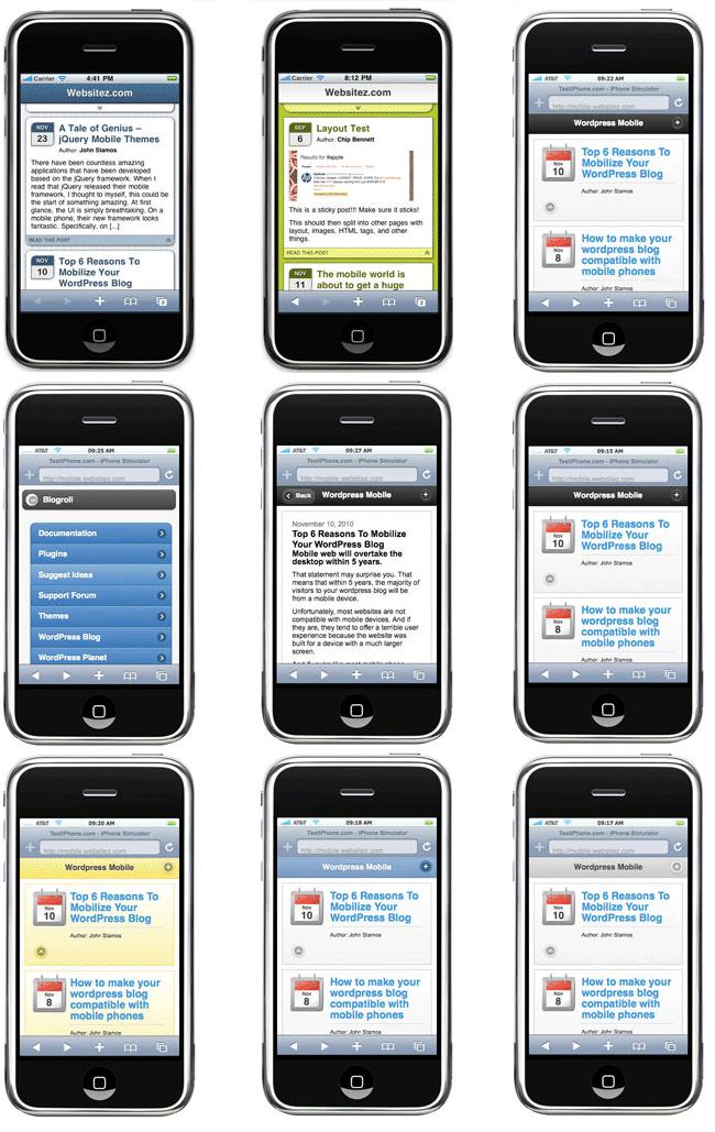 Mobile Themes