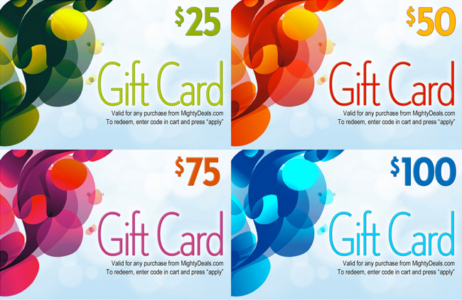 Mighty Deals Gift Cards
